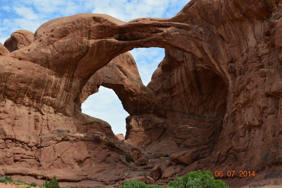 Arches National Park, Double Arch